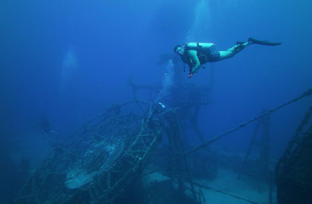 Wreck Dive - Vandenberg in Key, West, FL